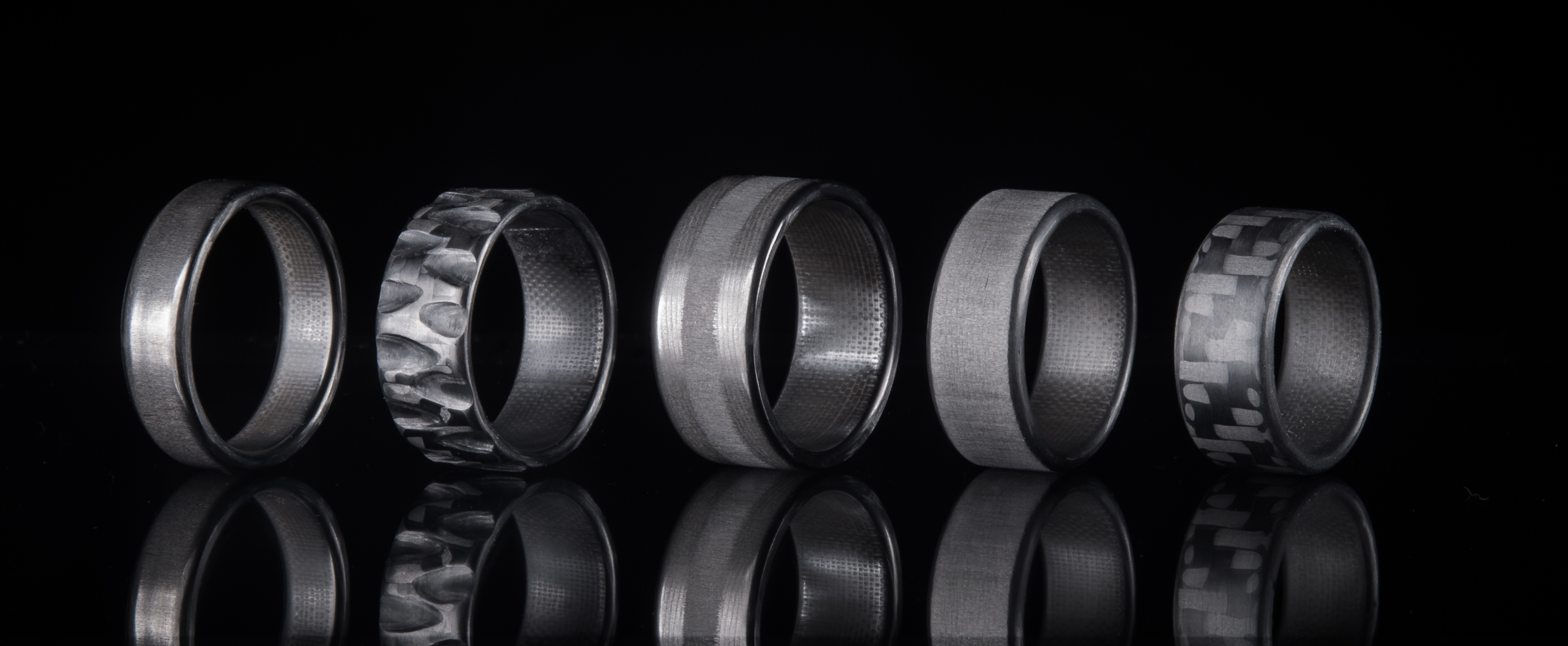 100 carbon fiber rings - Carbon Fiber Wedding Rings